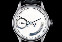 The Norfolk Timpiece / The new Norfolk with grande feu enamel dial - inspired by maritime instruments.