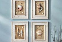cuadros con conchas