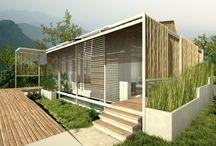Tenjo - huisje ontwerpen / ideeen