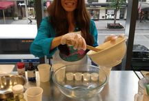 Debbie Does Classes All Around Town / Starting in New York and working her way West, Debbie Adler teaches attentive audiences nationwide how to make the delicious gluten-free, vegan and sugar-free desserts from her famous bakery - Sweet Debbie's Organic Cupcakes.