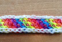 Rainbow Loom / Rainbow Loom tutorials and ideas. Don't miss our Rainbow Loom event for tweens (grades 3-5) on Tuesday, May 13, at 6:30 p.m. / by Marathon County Public Library