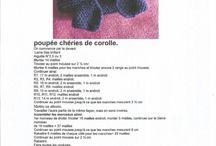 Tricots poupées / Gilet