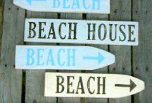 Beach / Bord BEACH maken