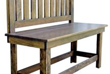 Chests & Benches / We offer several styles to de-clutter your entranceway and welcome guests