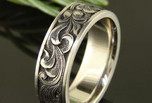 Interesting men's rings