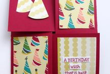 Birthday Stampin' Up! / by Michelle Curran-Borrego, Independent Stampin' Up! Demonstrator