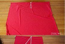 Lorraine 10minute no sew skirt