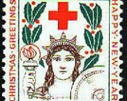 Red Cross stamps - Timbres Croix-Rouge