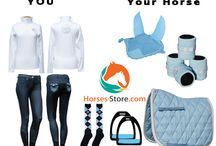 BLUE / Fashion ideas for your horse riding outfit. All these products are available at http://www.horses-store.com or local pickup in Dayboro, Queensland