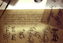 Calligraphy pages
