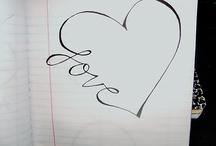 Doodles and lettering / by Karen Horgan