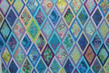 Diamond quilt ideas