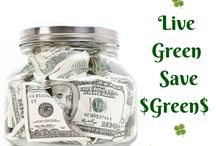 Green is Frugal / Ways making green choices can save you some serious cash.