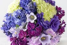 VERU lila-violet-yellow wedding