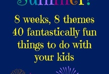 Pin-Tastic Summer / Join us for some fantastically fun weeks full of fun kid-tastic summer activities, crafts, recipes and more.  We'll post a new kid-friendly, educational activity every day so come back for more.