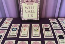 Broadway Themed Bat Mitzvah Party / Decor and Theme ideas for a Broadway Themed Bat Mitzvah Party