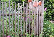 GARDEN WALLS AND FENCES