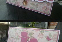 Kort - Mine hjemmelavede / The Cards I create