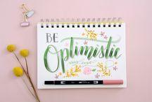 Brush Lettering - Inspiration
