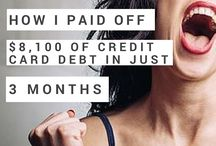 Debt Elimination / Ideas and tips on how to eliminate debt