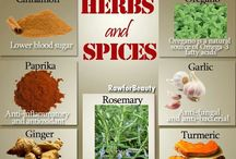 Herbs & Spices / Herbs and spices for better health and awesome taste. / by Spinal Health & Wellness