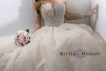 Dreamy Dresses / These dreamy dresses - romantic ballgowns, chic sheaths, and sophisticated fit and flare gowns - have our wedding dress loving hearts racing. Pick your favorite! / by Maggie Sottero Sottero