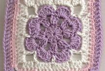 Krem lila motif