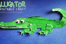 Reptile & Amphibian Crafts