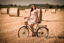 Vintage Bringa- Csorba Dorina / vintage bicycle- summer