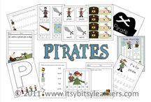 Pirates Preschool Crafts