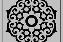 Mandalas de stencil