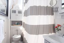 Your Bathroom Throne / When decorating your apartment, don't overlook your bathroom! It's more than a place to shower, it's a place to get ready for your day. Make your bathroom your own personal oasis with these ideas!