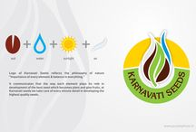Logo & Stationery Design by Purple Phase / Logo & stationery design for different industries across countries by Purple Phase Communications