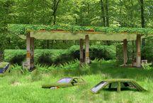 Station des Sens / Projet participatif visant à végétaliser une station d'essence abandonnée à Dunkerque