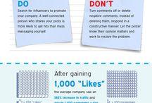 Médias Sociaux / Infographies sur les médias sociaux
