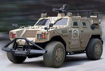 Chars et vehicules blindes / Engins blindés à usages militaires