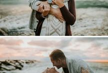 Natural engagement photography inspiration and ideas