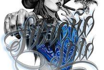 AIRBRUSH-ART-CALIGRAPHY-GRAFFITI-DESIGN-TUTORIALS