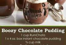 Drink, Chocolate pudding