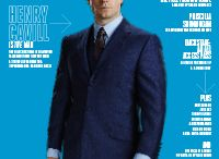 Henry Cavill in  Esquire Singapore Září 2015 / Henry Cavill on the cover of the September 2015 issue of Esquire Singapore