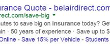 Awesome Insurance PPC Ads