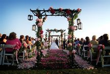 Colorful Travel Themed Wedding