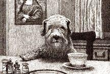 Animalarium - Mealtime / Animal art and illustration