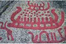 Helleristninger (petroglyphs)
