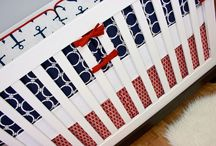 Nuatical Nurseries / Great nautical nursery ideas for baby boy, baby girl or even gender neutral! Anchors, Whales, Ships