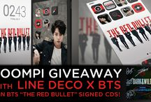 BTS GIVEAWAY ALBUM BY SOOMPI AND LINE DECO
