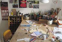 Home - Studio / by Lauren Taylor