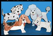 Dogs / All the things you need for a dog storytime.