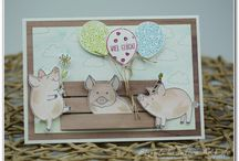 Stampin Up - This Little Piggy