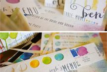 Art & Artistic Wedding Decor / 100 Braid St Studios is a co-shared workspace for 16 resident artists. Many creative people choose our venue because they want to reflect their own connectedness to art. Here are ways to bring Art into your wedding decor.